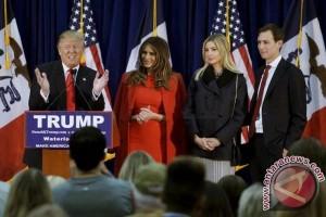 Trump libatkan tiga anaknya susun tim transisi pemerintahan