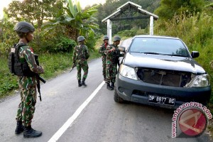 Polisi perketat penjagaan perbatasan Gorontalo-Sulteng