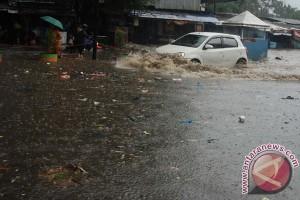 Banjir kepung kawasan Gedebage Kota Bandung