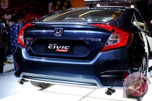 All New Honda Civic turbo sudah dipesan lebih dari 300 unit