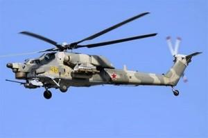 Helikopter Rusia jatuh di Suriah