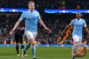 Manchester City tendang PSG dari Liga Champions