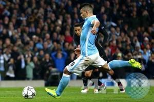 Aguero gagal penalti, PSG sementara tahan City 0-0