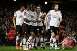 Manchester United ke semifinal Piala FA usai tekuk West Ham 2-1