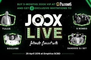 JOOX gelar konser perdana di Jakarta