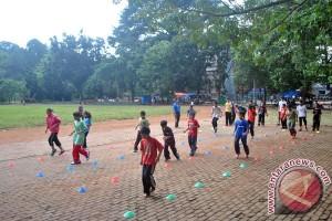 Lapangan Sempur sebagai arena berolahraga dan taman keluarga