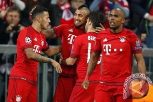 Tahan Benfica 2-2, Muenchen ke semifinal Liga Champions