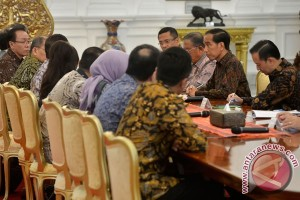 President Jokowi, KEIN leaders discuss indonesia`s industrial growth
