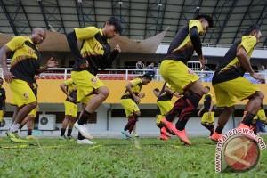 Sriwijaya FC boyong 23 pemain ke Bandung