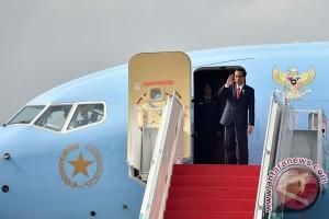 Presiden Jokowi tiba di Inggris