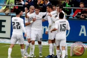 Hasil dan klasemen Liga Spanyol, Real Madrid teratas