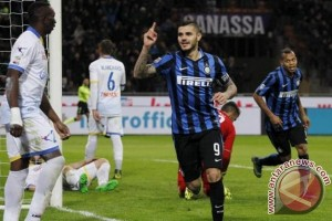 Inter atasi Torino 2-1 lewat gol Icardi