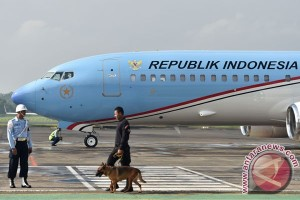 Wapres JK sambut kedatangan Presiden Jokowi