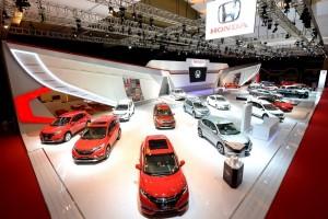 Empat mobil Honda pimpin pasar otomotif di kelasnya