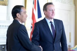 Presiden Jokowi gelar pertemuan dengan WNI di Inggris