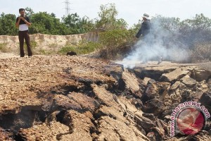Tanah Berasap Di Aceh Timur