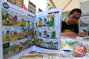 Festival Komik bergengsi Eropa cari komikus berbakat Indonesia