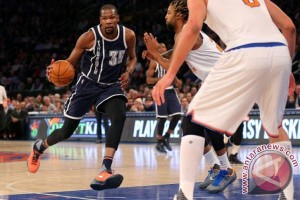 Playoff NBA - Durant bawa Thunder ungguli Mavericks 2-1