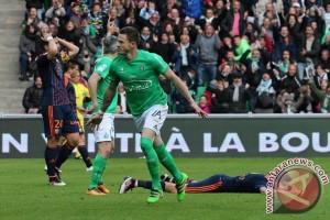 Bekuk Lorient 2-0, Saint-Etienne jaga peluang ke Liga Champions