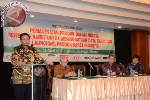 Kementerian Perindustrian dorong pemanfaatan produk berbasis karet nasional