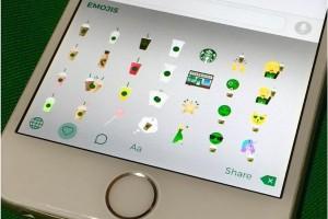 Starbucks rilis keyboard emoji untuk iOS dan Android
