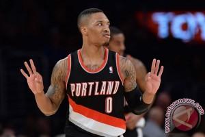Playoff NBA - Lillard antar Trail Blazers kalahkan Warriors