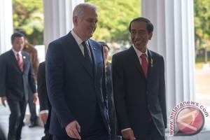 Presiden Jokowi lakukan pertemuan bilateral dengan Presiden Serbia