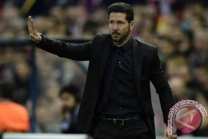 Diego Simeone tetap latih Atletico Madrid