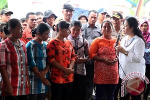 Menteri Puan janjikan percepatan pembangunan Mentawai