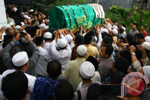 Pemakaman Imam Besar Masjid Istiqlal