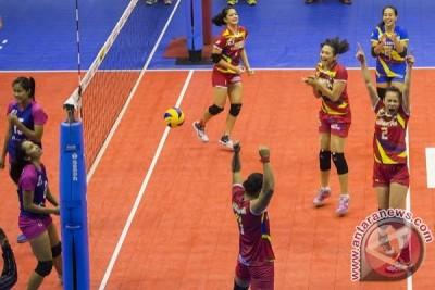 Jakarta Electrik menang telak atas Gresik Petrokimia, 3-0