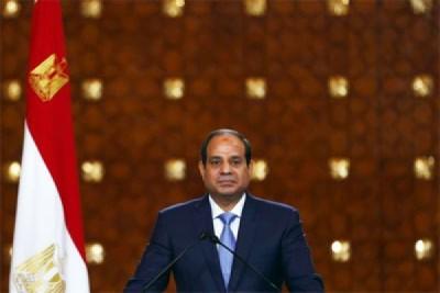 Presiden Mesir berjanji tetap kucilkan Qatar