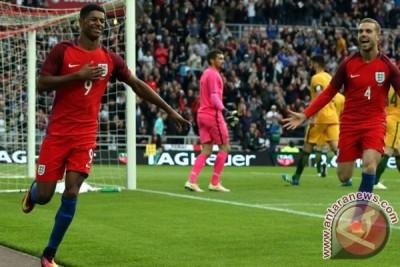 Debut sempurna Rashford antar Inggris tekuk Australia 2-1
