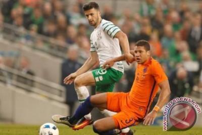 Laga persahabatan, Irlandia ditahan Belanda 1-1