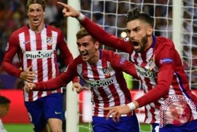 Babak pertama, Atletico tundukkan Bayern Muenchen 1-0