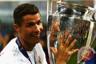 Ronaldo pencetak gol terbanyak Liga Champions empat musim beruntun