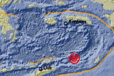 Gempa 5,1 skala RIchter guncang Papua Barat