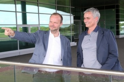 Mourinho kunjungi komplek latihan MU pertama kali