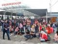 Stasiun Bogor Padat Penumpang