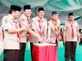 Pembukaan Perkemahan Pramuka Madrasah Nasional