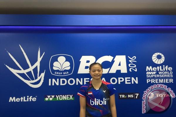 Melaju ke putaran kedua Indonesia Open, Fitriani ingin tampil terbaik