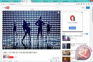 "2NE1 ""I am the Best"" sukses ditonton 150 juta orang"
