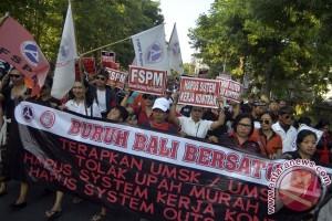 Demo Buruh Bali