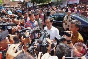 Presiden Jokowi resmikan Pasar Manis di Purwokerto