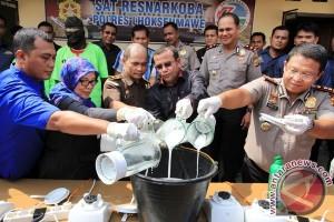 Pemusnahan Sabu Asal Malaysia