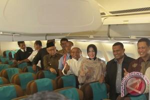 Penerbangan umrah perdana Aceh-Jeddah berangkat