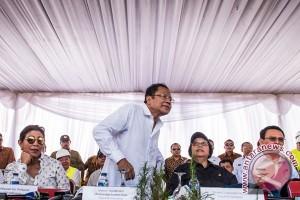 Menteri Pantau Reklamasi Pulau