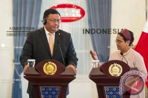 Menlu RI-Filipina bahas pertemuan trilateral keamanan perairan