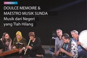 Keindahan ansambel Douce Memoire dan tembang Sunda Yoyon Darsono