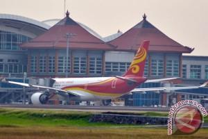 Penerbangan domestik di Bali terganggu cuaca buruk